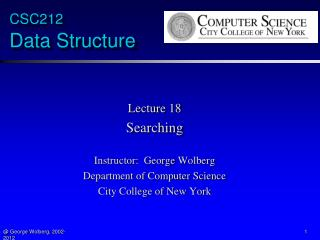 CSC212  Data Structure