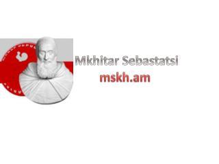 Mkhitar Sebastatsi mskh.am