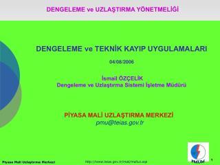 DENGELEME ve TEKNIK KAYIP UYGULAMALARI  04