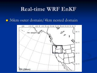 Real-time WRF EnKF