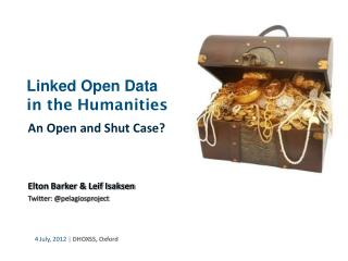 Linked Open Data in the Humanities
