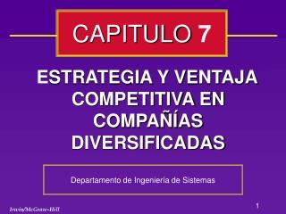 ESTRATEGIA Y VENTAJA COMPETITIVA EN COMPA  AS DIVERSIFICADAS