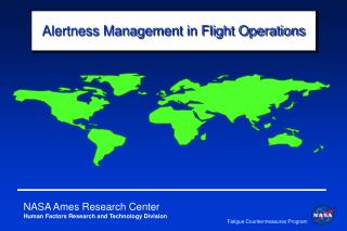 Alertness Management in Flight Operations