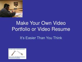 Make Your Own Video Portfolio or Video Resume