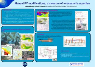 Manual PV modifications; a measure of forecaster's expertise