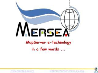 mersea.eu webmaster@mersea.eu