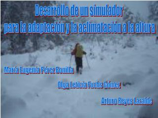 Desarrollo de un simulador  para la adaptación y la aclimatación a la altura
