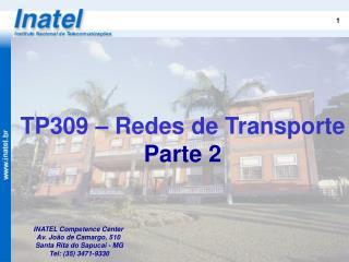 TP309 – Redes de Transporte Parte 2