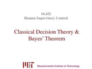 16.422  Human Supervisory Control