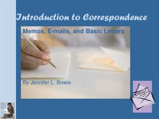 Introduction to Correspondence