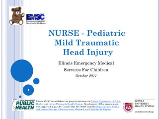 NURSE - Pediatric  Mild Traumatic  Head Injury