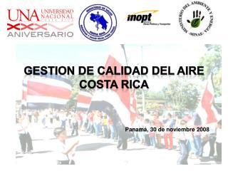 TERCER INFORME DE CALIDAD DEL AIRE CIUDAD DE SAN JOSE  2005-2006