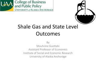 Shale Gas and State Level Outcomes