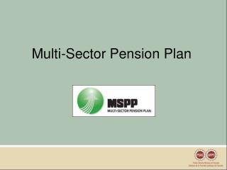 Multi-Sector Pension Plan