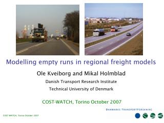 Modelling empty runs in regional freight models