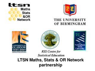 LTSN Maths, Stats & OR Network partnership