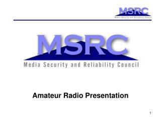 Amateur Radio Presentation