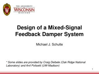 Design of a Mixed-Signal Feedback Damper System