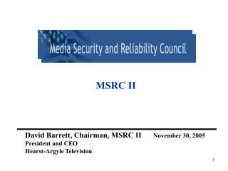 MSRC II