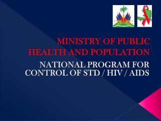 MINISTRY OF PUBLIC HEALTH AND POPULATION