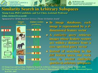 Similarity Search in Arbitrary Subspaces