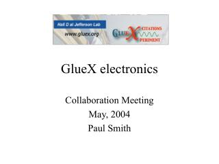 GlueX electronics