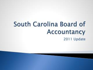 South Carolina Board of Accountancy