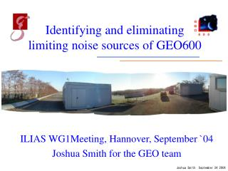 Identifying and eliminating limiting noise sources of GEO600