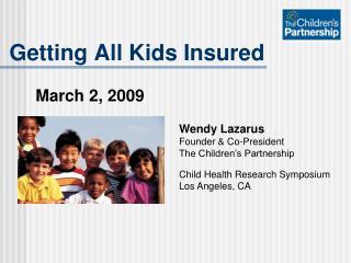 Getting All Kids Insured