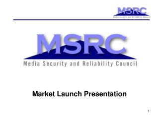 Market Launch Presentation
