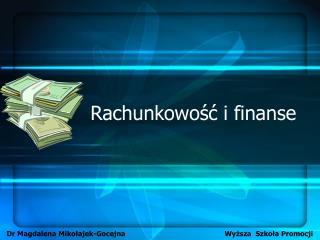 Rachunkowość i finanse