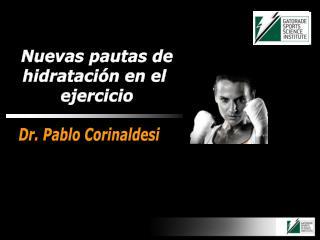 Dr. Pablo Corinaldesi