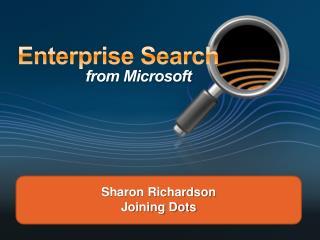 Sharon Richardson Joining Dots
