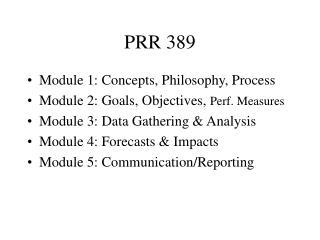 PRR 389