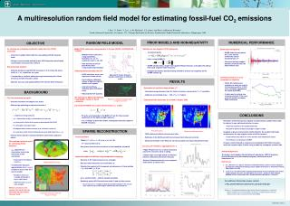 A multiresolution random field model for estimating fossil-fuel CO 2  emissions