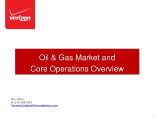 Oil  Gas Industry Solutions