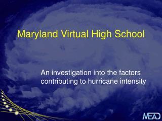 Maryland Virtual High School