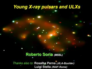 Young X-ray pulsars and ULXs