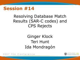 Session #14