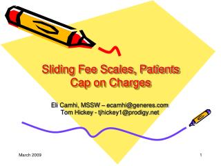Sliding Fee Scales, Patients Cap on Charges