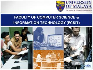 FACULTY OF COMPUTER SCIENCE & INFORMATION TECHNOLOGY (FCSIT)