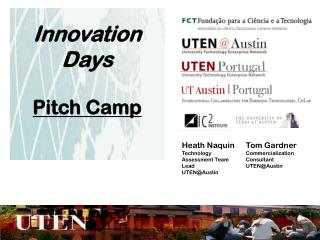 Innovation Days Pitch Camp