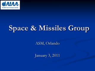 Space & Missiles Group