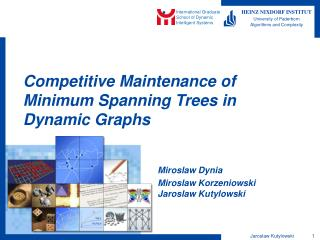Competitive Maintenance of Minimum Spanning Trees in Dynamic Graphs