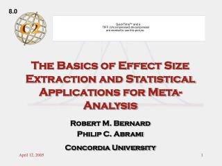 The Basics of Effect Size Extraction and Statistical Applications for Meta-Analysis