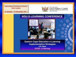 WSU E-LEARNING CONFERENCE