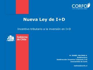 Nueva Ley de I+D