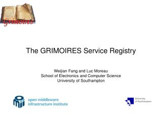 The GRIMOIRES Service Registry