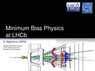 Minimum Bias Physics  at  LHCb