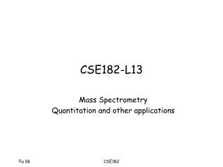 CSE182-L13